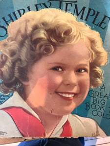 Shirley Temple color book
