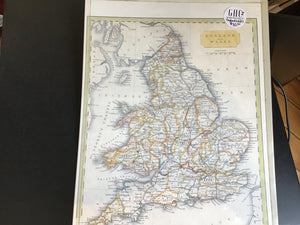 Map England, Wales