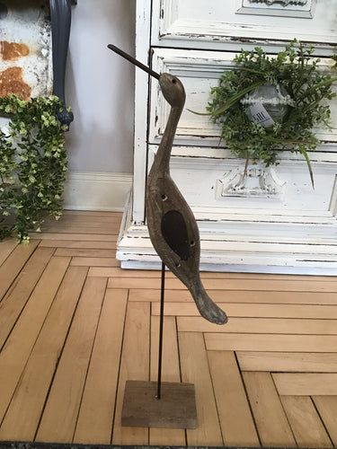 Medium Wooden Heron