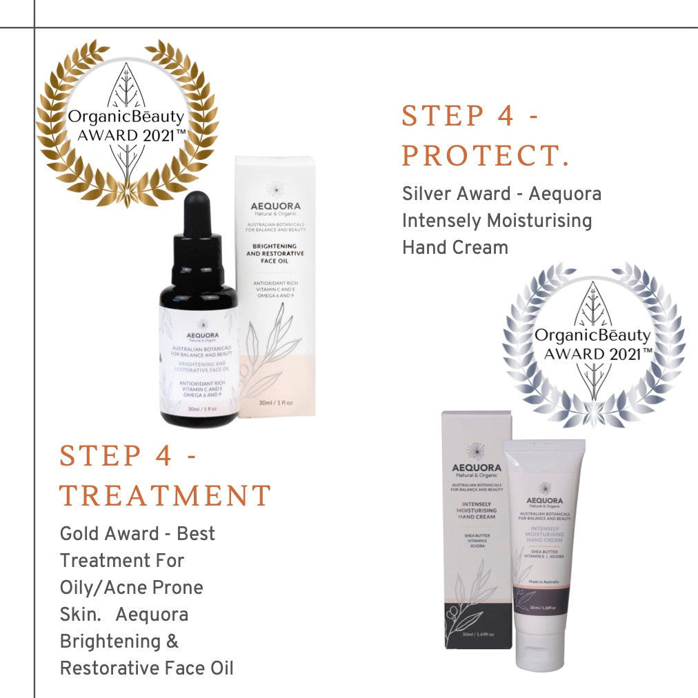 More Wins For Aequora In The Organic Beauty Awards 2021