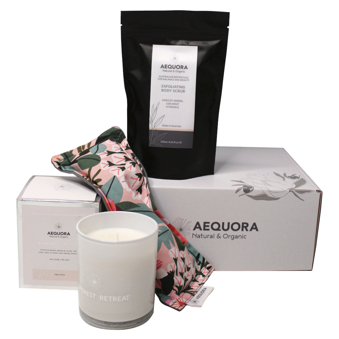 Australian Botanical Self Care Gift Box (with Exfoliating Body Scrub) ***NEW!***