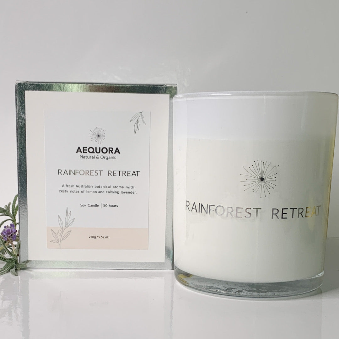 Rainforest Retreat 100% Soy Wax Candle - *NEW*