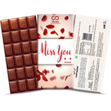 Miss You Chocolate Bar