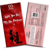 Will You Be My Life Partner Chocolate Bar