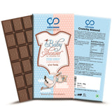 Baby Shower (Blue) Chocolate Bar