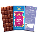 Happy Birthday To You Chocolate Bar
