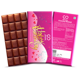 Happy Birthday (Pink) Chocolate Bar