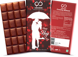 Happy Hug Day Chocolate Bar
