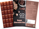 Happy Chocolate Day Chocolate Bar