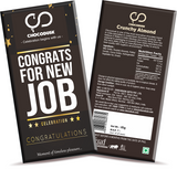Congrats For New Job Chocolate Bar