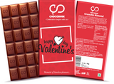Happy Valentine's Day (Red) Chocolate Bar
