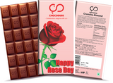 Happy Rose Day Chocolate Bar