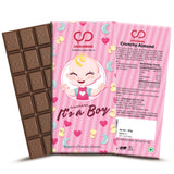 Congrulation It's A Boy (Pink) Chocolate Bar
