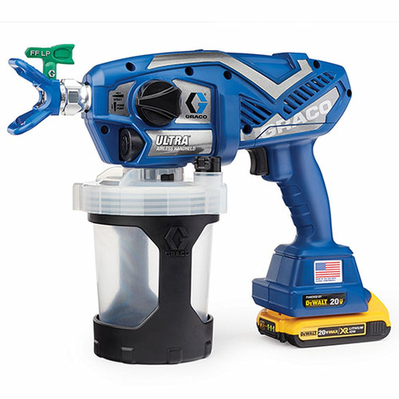 Graco 17M363 Ultra Airless Cordless Handheld Paint Sprayer