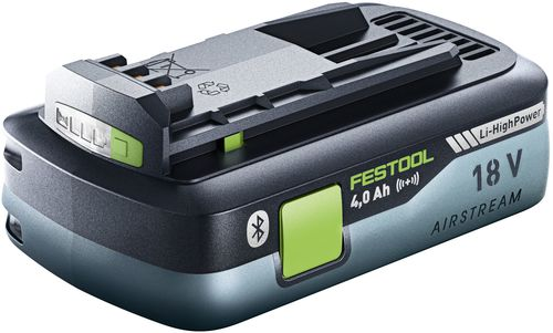 Festool BP 18V Li-HighPower 4.0Ah Battery Pack w/Bluetooth