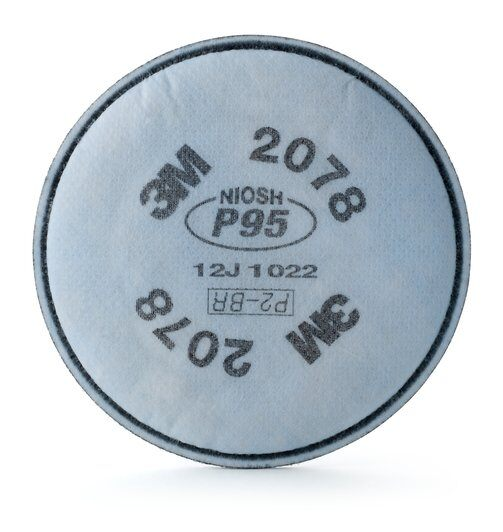 3M™ P95 Particulate Filter with Nuisance Level Organic Vapor/Acid Gas Relief (Pack of 2)