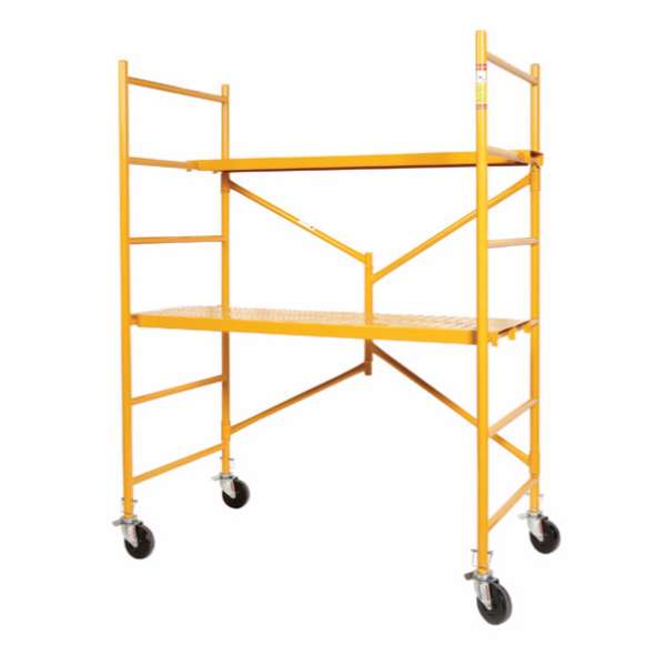 Circle Brand  6' Steel Folding Mobile Scaffold