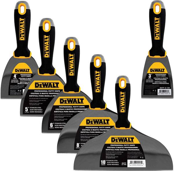 DeWalt Stainless Steel Putty Knife Set DXTT-3-139