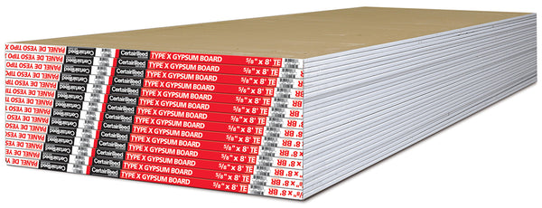 Certainteed Type X Drywall - 5/8""