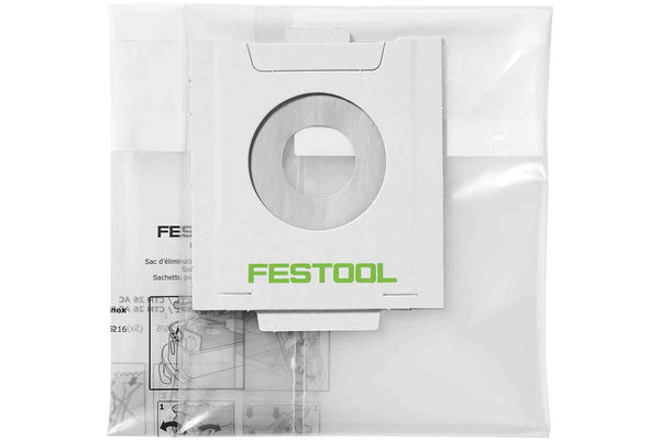 Festool Disposable Dust Liners NS-CT 36 AC/5 - 5 Pack