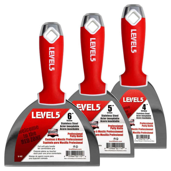Level 5 Stainless Steel Joint Knife Set 5-620