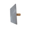 Richard Square Aluminum Drywall Hawk with Wood Handle