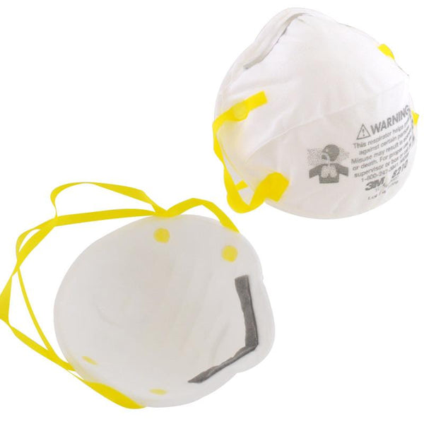 3M™ 8210 Particulate Respirator Dust Masks N95