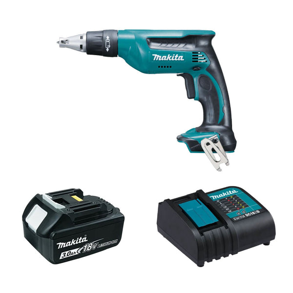 Makita DFS451ZA 18V LXT Drywall Screwdriver with Standard Charging Kit