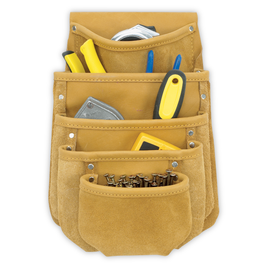 Kuny's DW1040 5 Pocket Drywall Tool Pouch