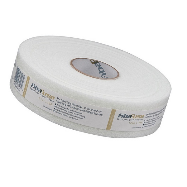 "FibaFuse™ 2 1/16"" Creaseless Paperless Drywall Tape"