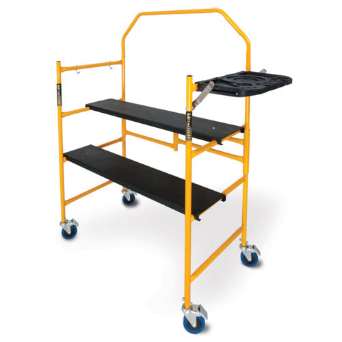 "MetalTech JOBSITE Series™ 4? Mini Scaffold with 4"" Casters"
