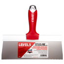 Level 5 Stainless Steel Taping Knife with Soft Grip Handle