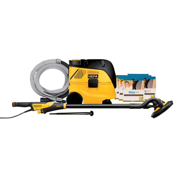 Mirka LEROS 9 in Drywall Sander/Dust Extractor Combo Package (MCA-LEROSDENET)