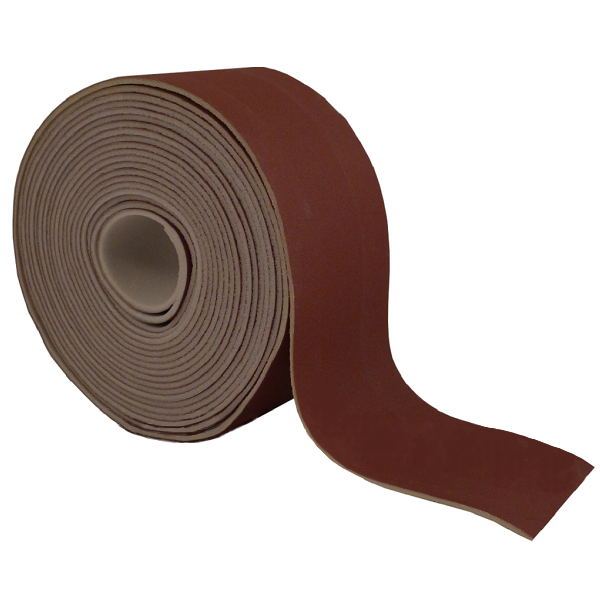 "National Abrasives Lane 3-5/16"" x 33' Sponge Back Sandpaper"