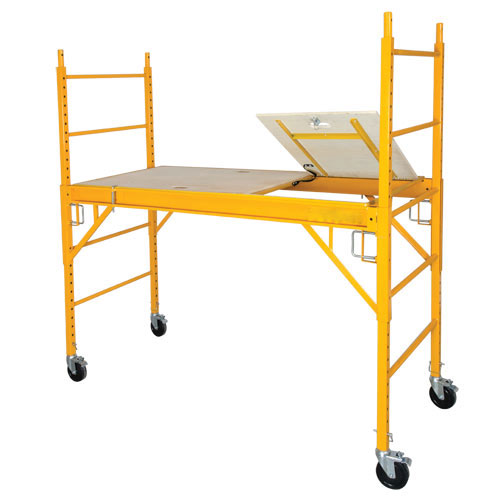 Circle Brand  6' Steel Rolling Tower Scaffold with Hatch in Platform