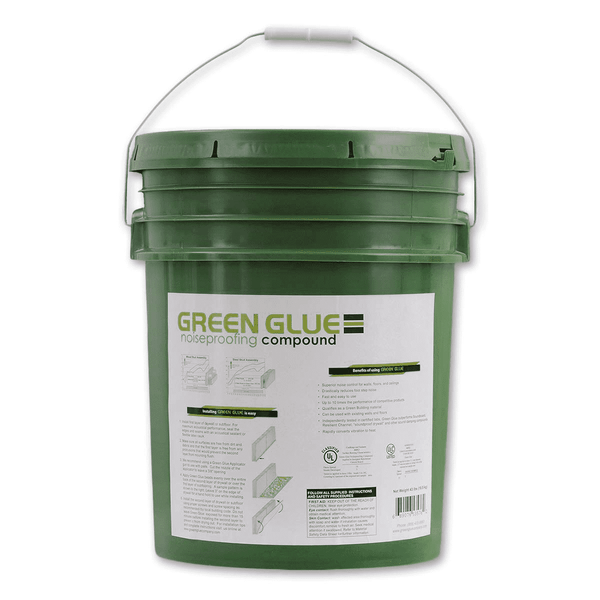 Green Glue Noiseproofing Compound 43lb Pail