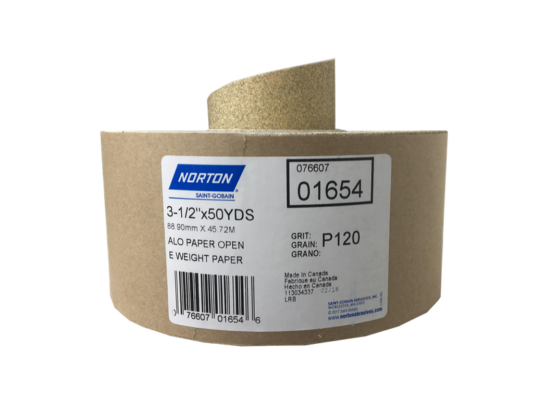 Norton 3-1/2″ x 50 Yard WallSand Sandpaper