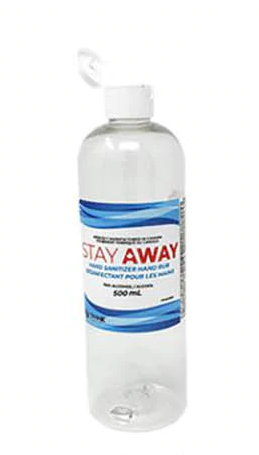 Stay Away Hand Sanitizer 480 ml Bottle