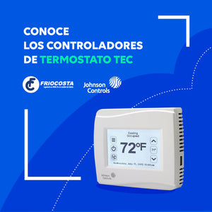 Termostato TEC 3000 Johnson controls