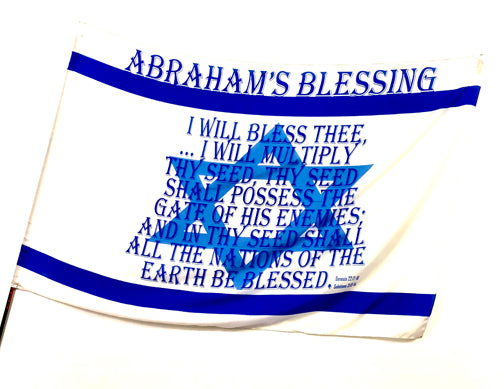 Abraham's Blessing Worship Flag