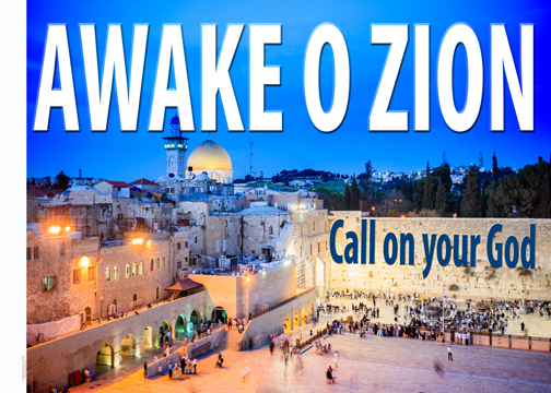 Awake O Zion Worship Flag