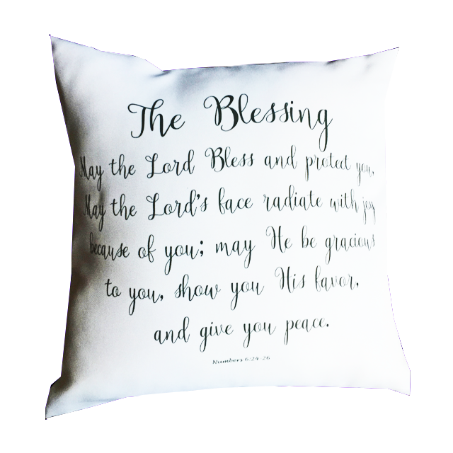 The Blessing Pillow