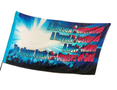 Chosen Generation Worship Flag
