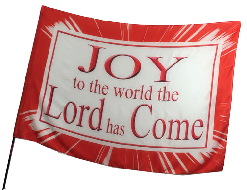 Christmas Worship Flags