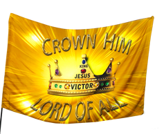 Crown Him Lord of All Worship Flag