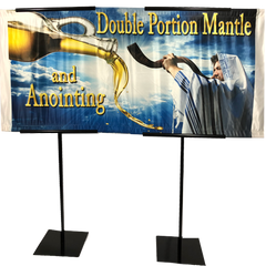 Double Portion Mantle Horizontal Banner