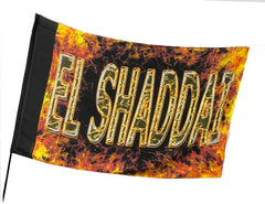 El Shaddai Worship Flag
