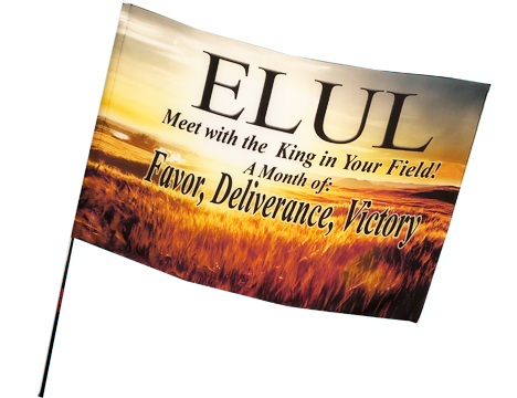 ELUL Worship Flag Worship Flags