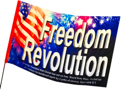 Freedom Revolution Silk Worship Flag