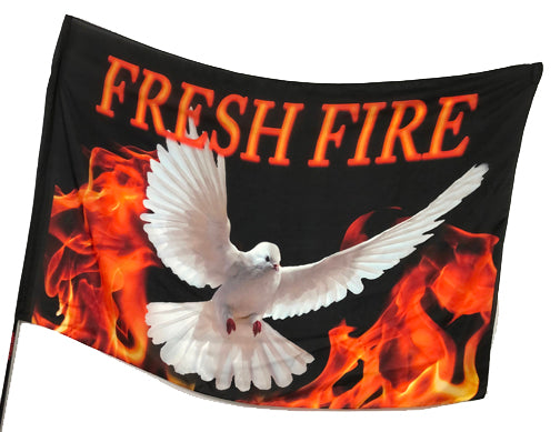 Fresh Fire Worship Flag